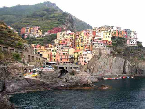 Beauty lives on in Cinque Terra.